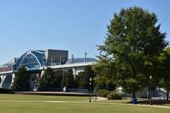 John Ross Bridge on Market Street in Chattanooga, Tennessee Stock Images