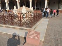 John Russel Grave en el fuerte rojo Agra fotos de archivo