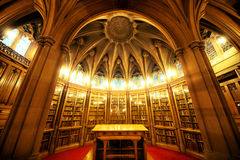 John Rylands biblioteka Obraz Royalty Free