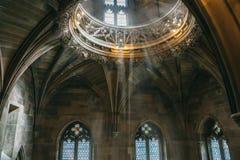 John Rylands Library royaltyfri bild