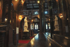 John Rylands Library in Manchester stockfotografie