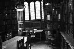 John Rylands Library in Manchester, England lizenzfreie stockbilder