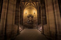The John Rylands Library Original Entrance Royalty Free Stock Photo