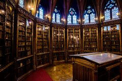 The John Rylands Library Reading Room Enclosure Stock Image
