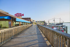 John's Pass Village and Boardwalk Stock Photography