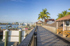 John's Pass Village and Boardwalk Stock Images