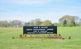 John S. Wilder Youth Development Center, Somerville, TN. John S. Wilder Youth Development Center, State of Tennessee Department of Children`s Services royalty free stock images