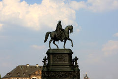 John of Saxony, Dresden Stock Photography