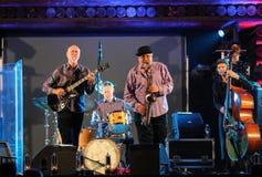 John Scofield and Joe Lovano Quartet Stock Photos