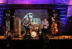 John Scofield and Joe Lovano Quartet Royalty Free Stock Photos