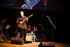 John Scofield Quartet, ZaJazz Festival 2010 royalty free stock photography