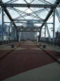 John Seigenthaler Bridge fotografie stock