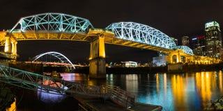 John Seigenthaler Pedestrian Bridge Lizenzfreie Stockbilder
