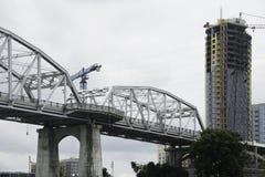John Seigenthaler Pedestrian Bridge imagem de stock royalty free
