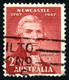 John Shortland Australian Postage Stamp foto de stock royalty free