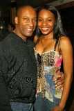 John Singleton and Kena Zakia Stock Photos