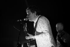 John Spillane. Bellurgan Park,County Louth,Ireland,4th May 2014,John Spillane plays live at Vantasival music Festival,Bellurgan,County Louth on May 4th 2014 Royalty Free Stock Photography