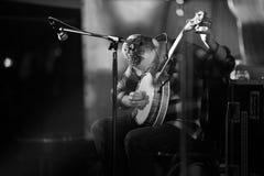 John Spillane. Bellurgan Park,County Louth,Ireland,4th May 2014,John Spillane plays live at Vantasival music Festival,Bellurgan,County Louth on May 4th 2014 Stock Photography