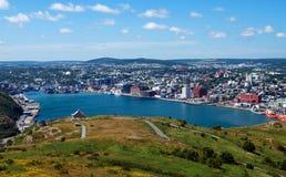 john st Newfoundland s Obraz Stock