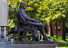 John Statua Harvard Obraz Stock