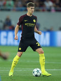 John Stones. Defender of Manchester City, pictured during the Uefa Champions League match against Steaua Bucharest. Manchester City won 5-0 Stock Photo