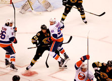 John Tavares v. Chris Kelly Bruins v. Islanders Royalty Free Stock Photos