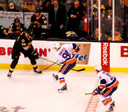 John Tavares and Zdeno Chara (NHL Hockey) Royalty Free Stock Photos