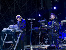 John Taylor and Roger Taylor Royalty Free Stock Images