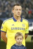 John Terry FC Schalke v FC Chelsea 8eme Final Champion League Stock Photo