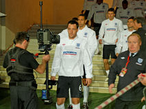 John TERRY go to a field Royalty Free Stock Images