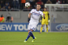 John Terry. Player of Chelsea London pictured during the Uefa Champions League game between his team and Steaua Bucharest (Romania). Chelsea won the match, 4-0 Stock Photos