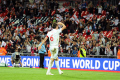 John Terry salutes fans Royalty Free Stock Photography