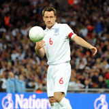 John Terry throws the ball Stock Photo