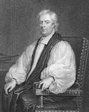 John Tillotson. (1630-1694) on engraving from the 1800s Royalty Free Stock Photo
