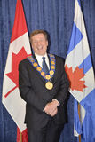 John Tory officially sworning in as Toronto's 65th mayor in City hall, Toronto, Canada. Stock Photos