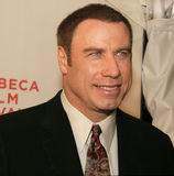 John Travolta. Actor John Travolta arrives on the red carpet for the premiere of \Lonely Hearts,\ at the 5th Annual Tribeca Film Festival at the BMCC/TPAC in Royalty Free Stock Image