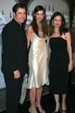 John Travolta, Katie Holmes, Kelly Preston Imagem de Stock