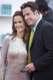 John Travolta et Kelley Preston 1 Image libre de droits