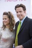 John Travolta et Kelley Preston 3 Image stock