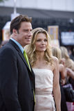 John Travolta et Michelle Pfeiffer Photo stock