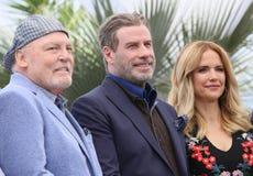 John Travolta i Kelly Preston, Stacy Keach Zdjęcia Stock