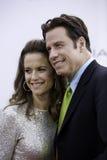 John Travolta and Kelley Preston 2 royalty free stock image