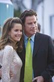 John Travolta and Kelley Preston 7 Royalty Free Stock Photos