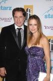 John Travolta, Kelly Preston obrazy royalty free