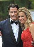 John Travolta & Kelly Preston Royalty Free Stock Images