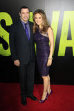 John Travolta, Kelly Preston arrives at the  Stock Photography