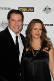 John Travolta,Kelly Preston Royalty Free Stock Photo