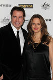 John Travolta, Kelly Preston Royalty Free Stock Photos
