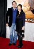 John Travolta and Kelly Preston Royalty Free Stock Photography