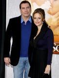 John Travolta and Kelly Preston Royalty Free Stock Image